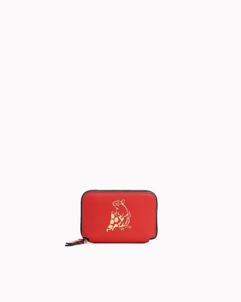 RAG & BONE PIZZA RAT COIN POUCH
