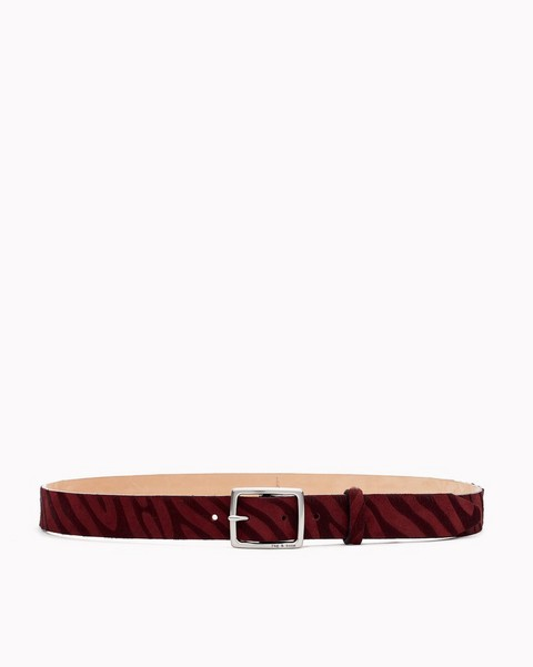 RAG & BONE Boyfriend Belt - Zebra
