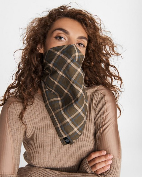RAG & BONE SCOT COTTON BANDANA MASK