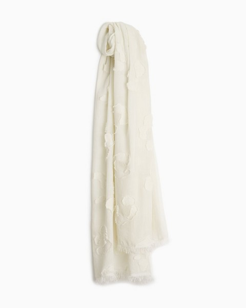 RAG & BONE Abstract Cheetah Cotton Scarf