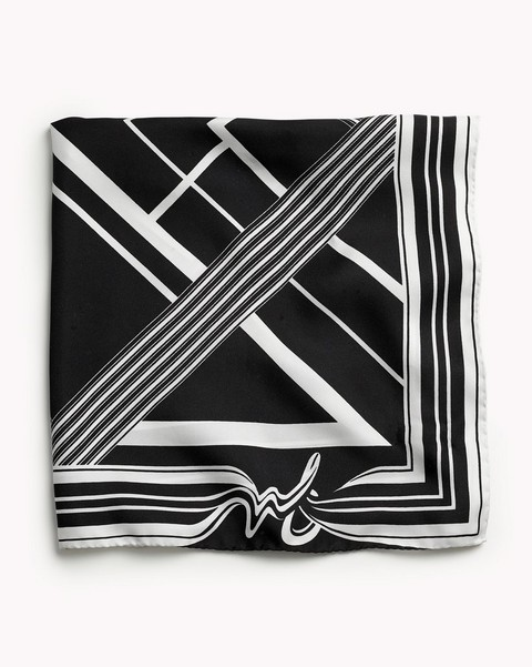 RAG & BONE COLORBLOCK BANDANA