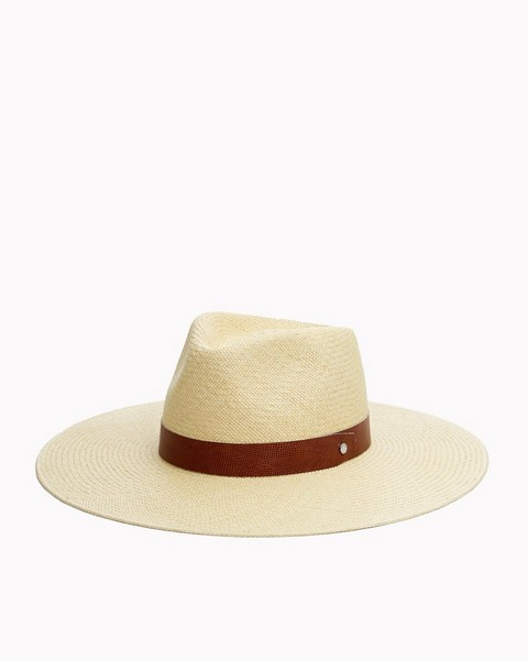 RAG & BONE WIDE BRIM PANAMA