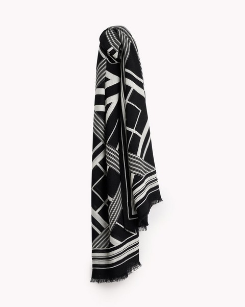 RAG & BONE COLORBLOCK SCARF