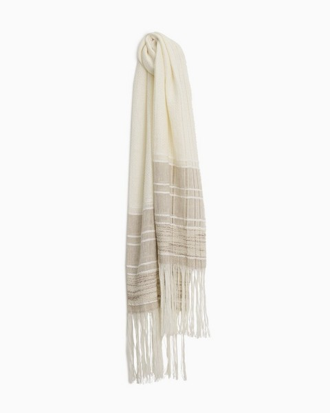 RAG & BONE Kara Playa Linen Cotton Scarf