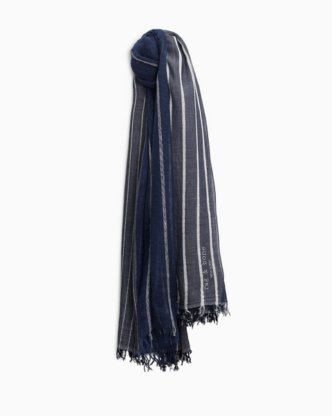 RAG & BONE Farrah Cotton Linen Scarf