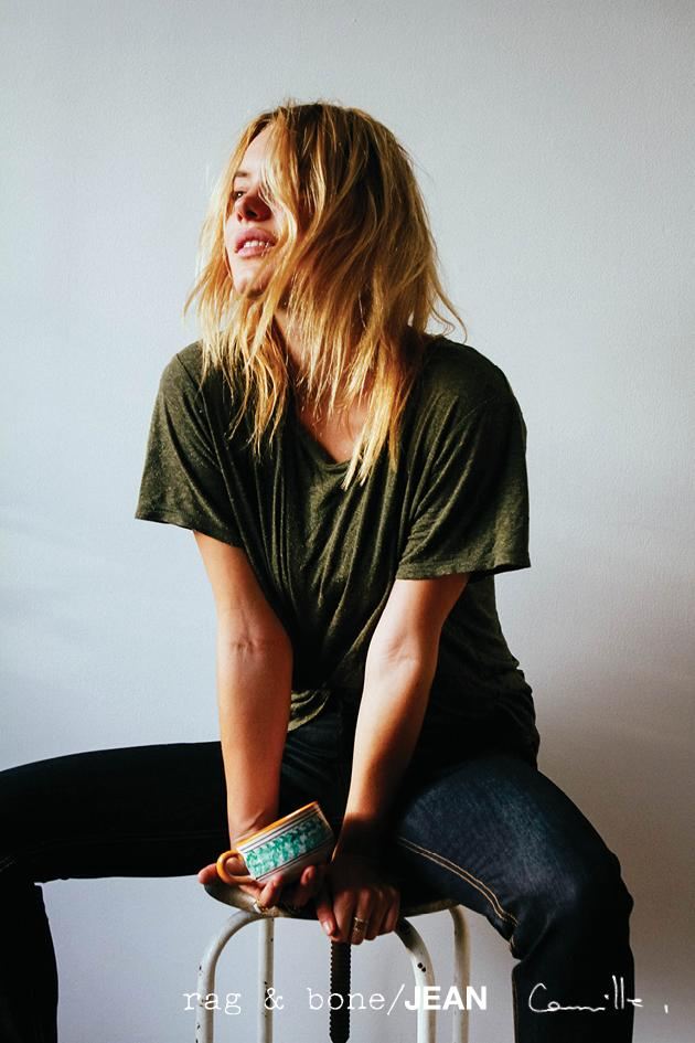 rag & bone: DIY Model Camille Rowe