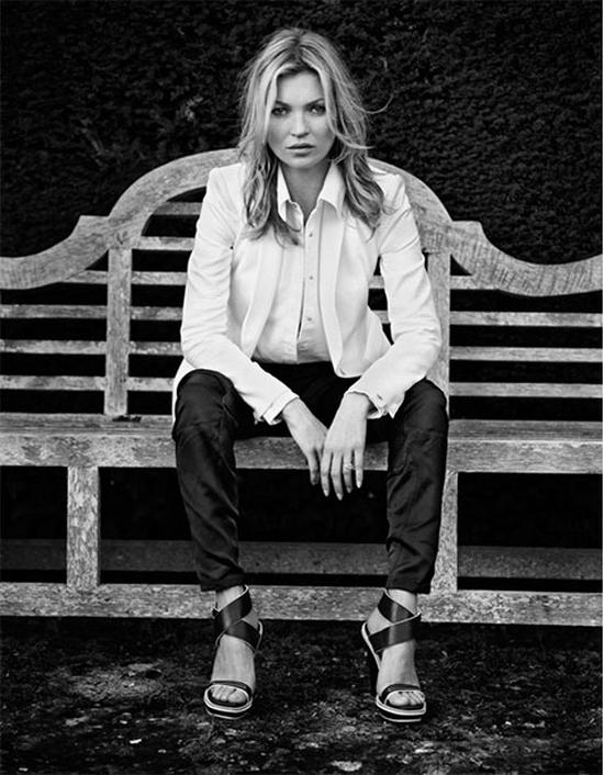 rag & bone blog: SS 2013 Campaign, featuring Kate Moss