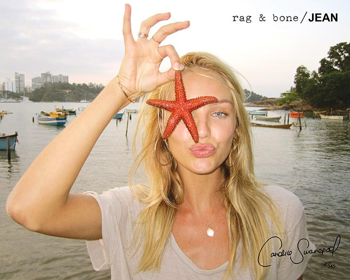 rag & bone: DIY Model Candice Swanpoel