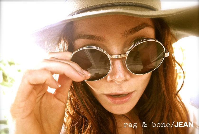 rag & bone: DIY Model Clara Paget