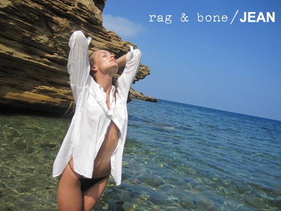 rag & bone: DIY Model Edita Vilkeviciute