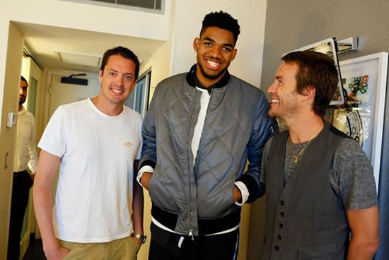 rag & bone blog: Q&A with NBA Star Karl Anthony Towns