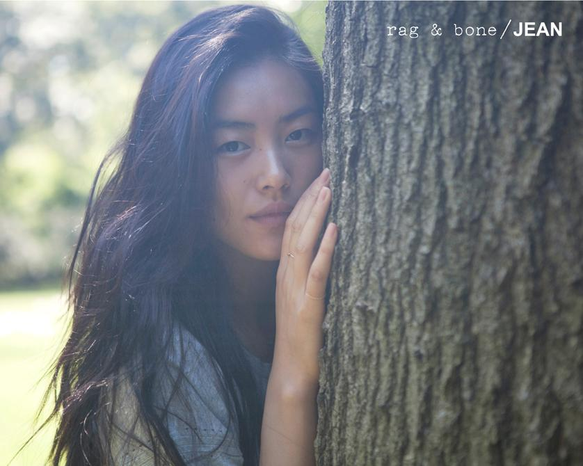 rag & bone: DIY Model Liu Wen