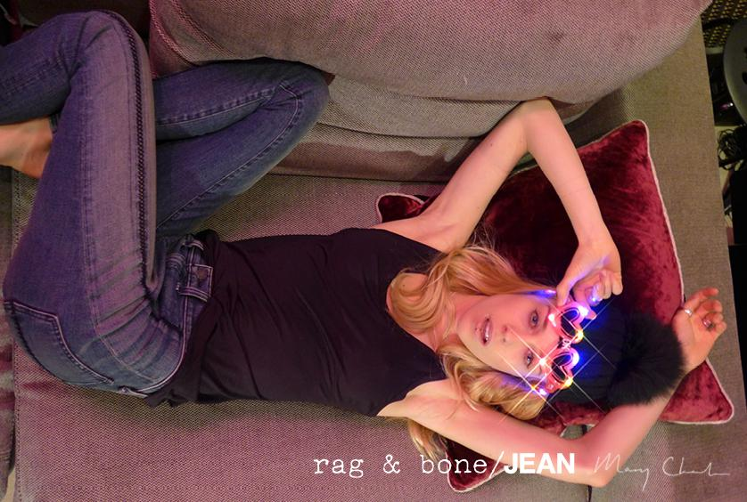 rag & bone: DIY Model Mary Charteris