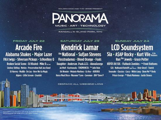 rag & bone blog: Panorama Music Festival