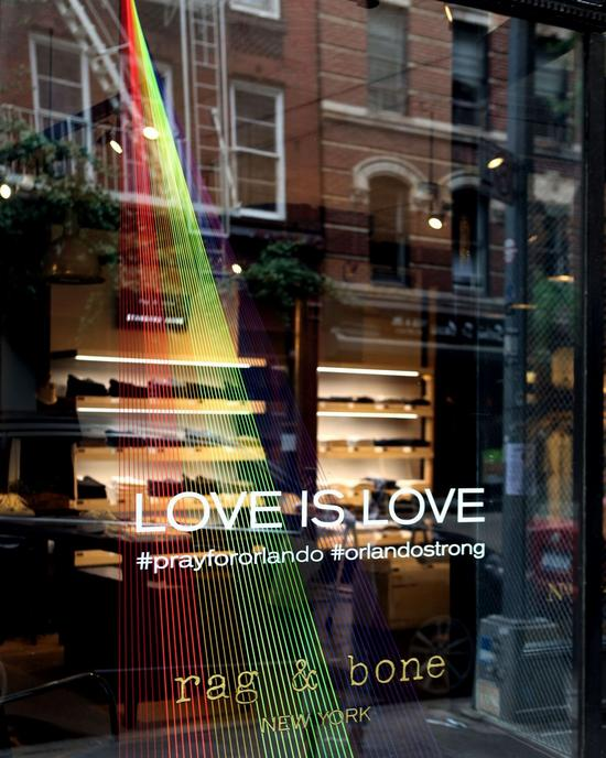 rag & bone blog: Pride Windows 2016