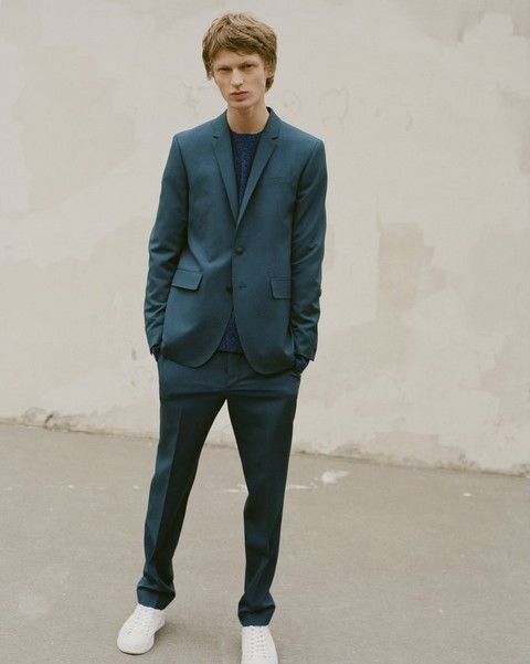 RAG & BONE Razor Suit in Blue