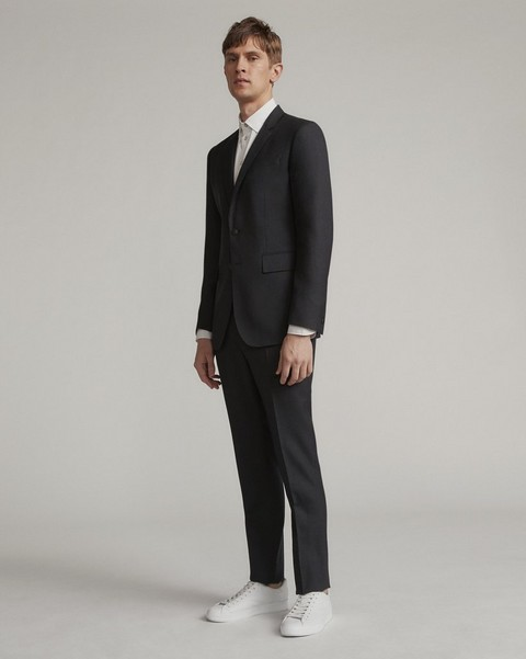 RAG & BONE Razor Suit in Charcoal