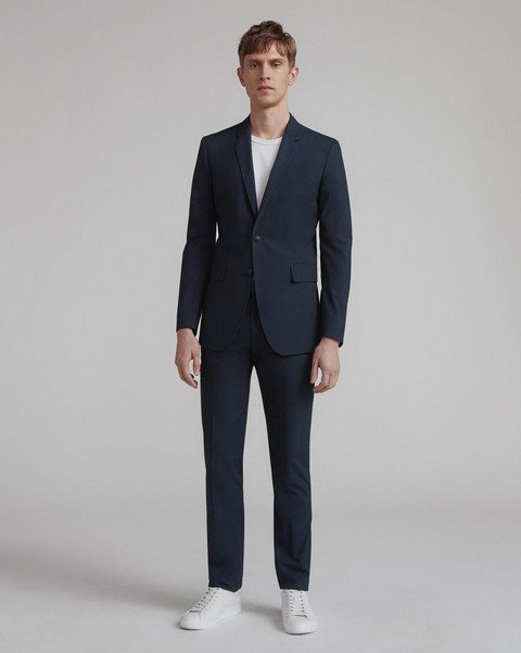 RAG & BONE Razor Suit in Navy