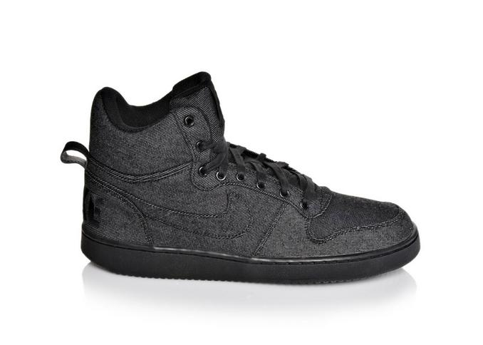 vans authentic femme - Men's Nike Court Borough Mid Premium | Shoe Carnival