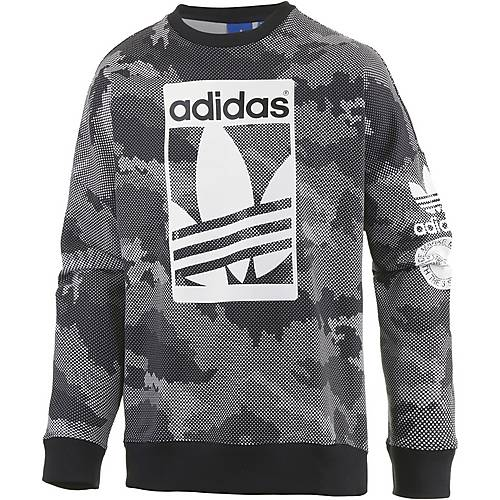 adidas sweatshirt herren grau