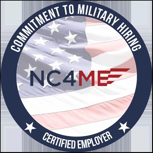 BMC Veteran Recruiting NC4ME Logo