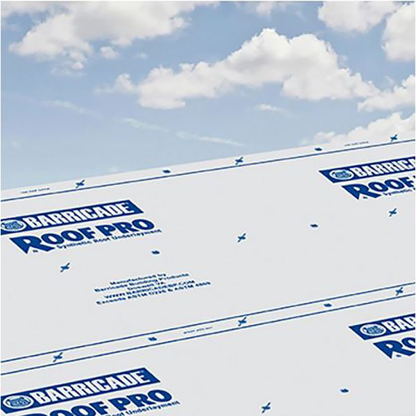 Barricade® Roof Pro Synthetic Roof Underlayment | BRP48250