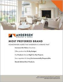 Andersen Most Preferred Brand