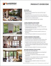 Andersen Product Overview Sheet