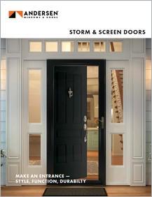 Andersen Storm Doors Brochure