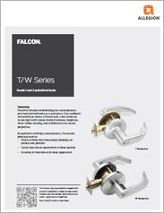 Falcon® T/W-Series Cylindrical Locks