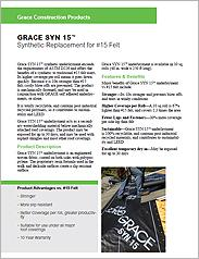 GRACE SYN 15™ Synthetic Underlayment