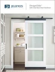 JELD-WEN® DesignGlide™ Barn Door Hardware
