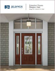 JELD-WEN® Fiberglass and Steel Exterior Doors