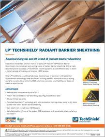 LP® TechShield® Radiant Barrier Information Sheet