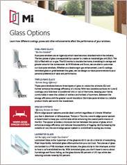 MI Glass Options