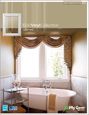 Ply Gem® 1500 Vinyl Collection Casement Windows Spec Sheet - East