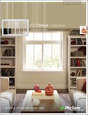Ply Gem® 1500 Vinyl Collection Custom Sliding Windows Spec Sheet - East