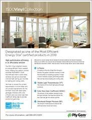 Ply Gem® 1500 Energy Star Vinyl Collection