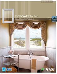 Ply Gem® 1500 Vinyl Collection Impact Casement Windows Spec Sheet - East