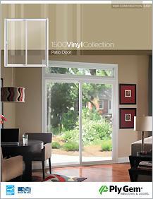 Ply Gem® 1500 Vinyl Collection Patio Doors Spec Sheet - East