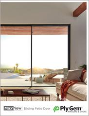 Ply Gem® MaxView Sliding Patio Door Brochure
