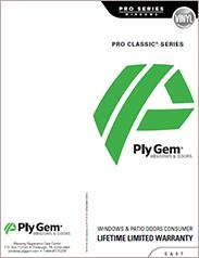 Ply Gem® Pro Classic Series Window Warranty - East