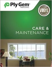 Ply Gem® Vinyl Windows Care and Maintenance