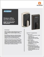 Schlage® Wireless Offline Security Solution