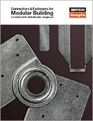 Simpson Strong-Tie® Connectors and Fasteners for Modular Building
