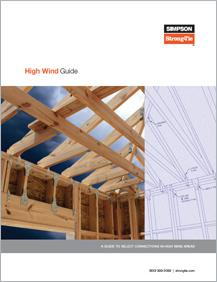 Simpson Strong-Tie® High Wind Guide