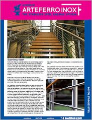 Arteferro Inox Stainless Steel Railing Brochure