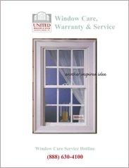 United Windows Care, Warranty, and Service