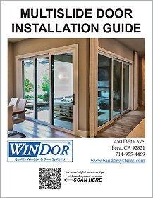 WinDor Multi-Slide Door Installation Guide