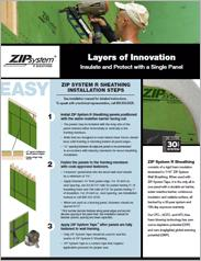 Zip System® Sheathing Installation